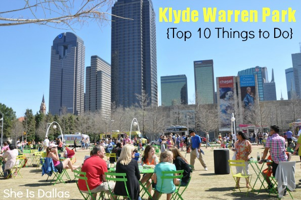 Top 10 Things to Do at Klyde Warren Park Dallas