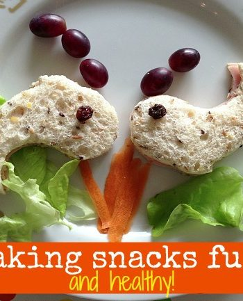 Fun Food: {Fun and Healthy} Snacks for Kids