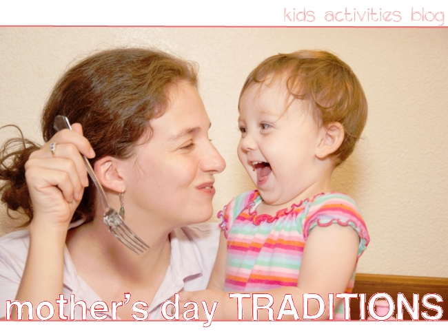 Celebrate Mom on Mothers Day and start a tradition in your family