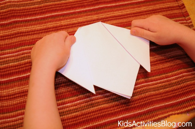 Art and Math with Easy Origami {Make a Dog}