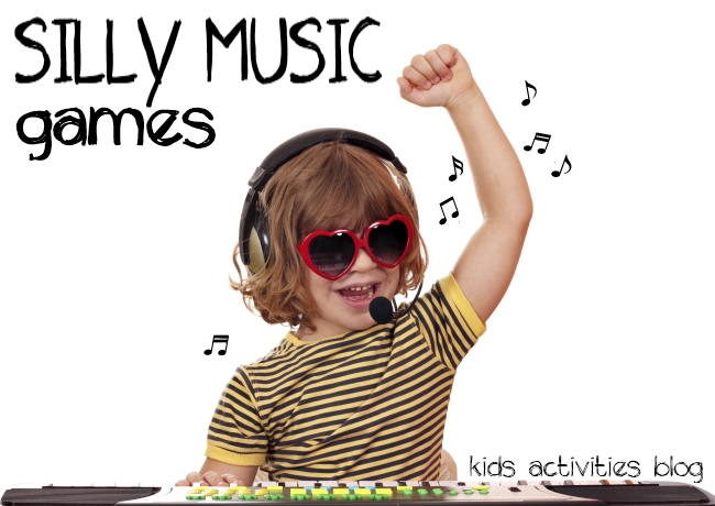 silly music games for kids