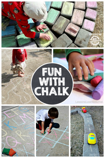 8 Unique Games With Chalk