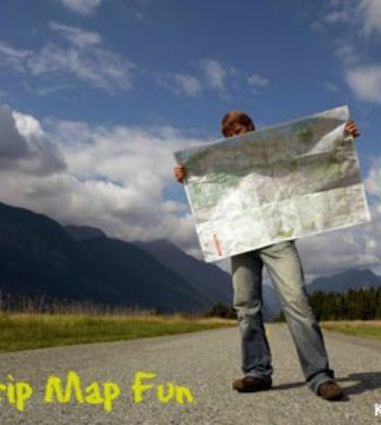 Map a Road Trip {Map Skills for Kids}