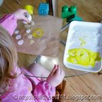 Kids Art: Printmaking with Toys by Childhood101