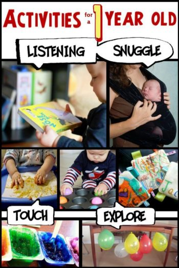 best activities for 1 year olds from Kids Activities Blog
