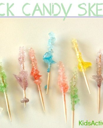 Rock Candy: Make Rock Candy Mini Skewers {Cute Rock Candy Recipe}