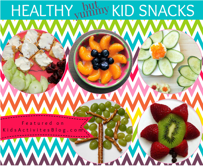 7 Healthy {but yummy} Kids Snacks