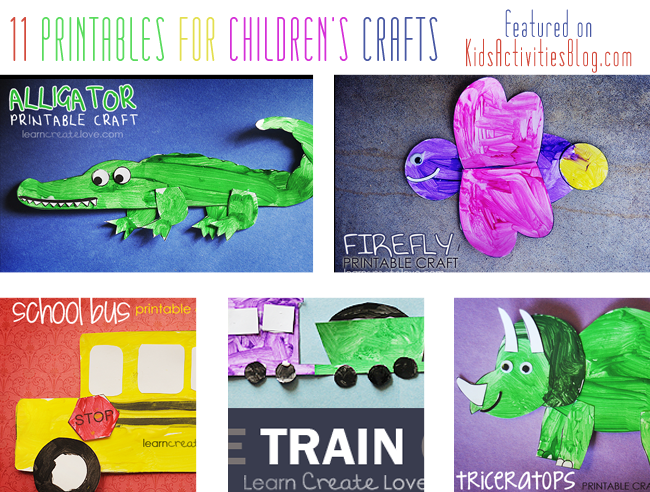 Printables for Children's Crafts