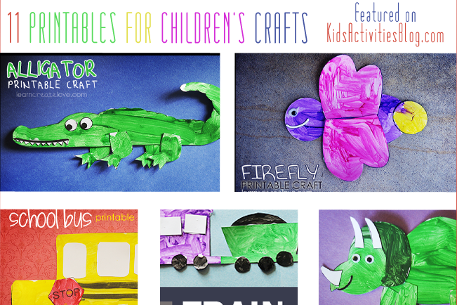 11 Amazing {and FREE} Printables for Kids