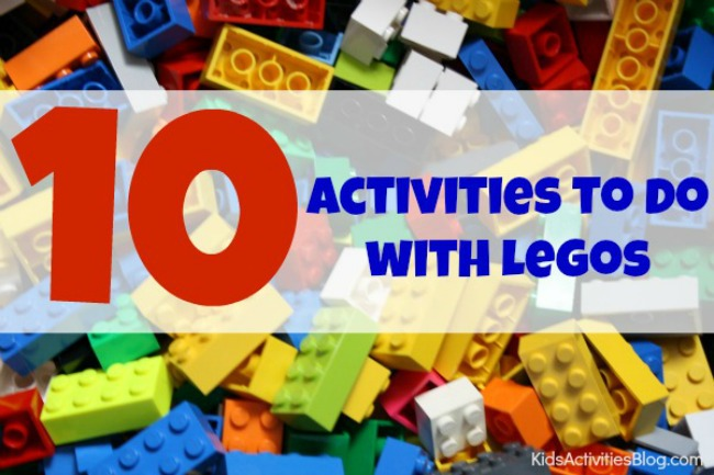 Play and Learning: 10 Things Kids can do with Lego Bricks
