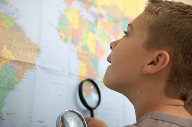 Map Reading: Learning Map Skills {Maps for Kids}
