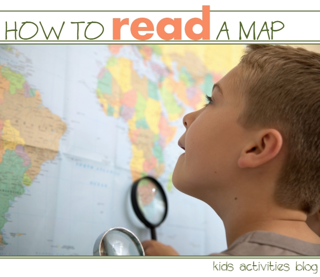 how to read maps with your kids
