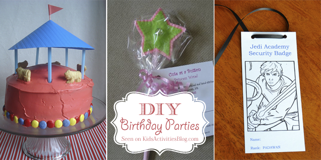 5 DIY Birthday Party Ideas