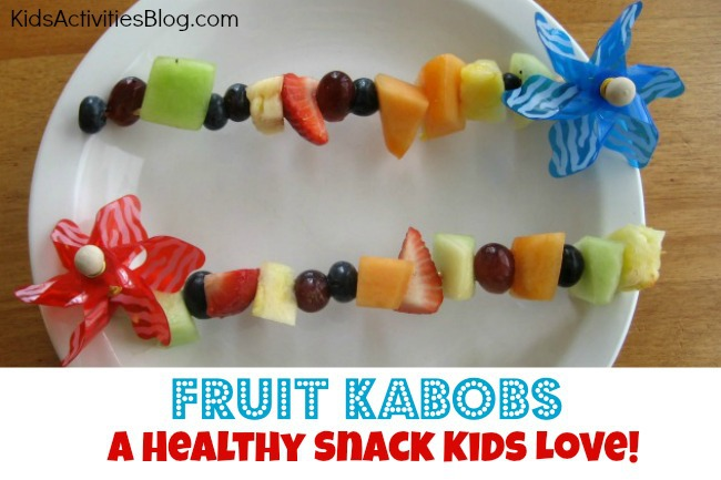Good Food: Fruit Kabobs {Fun Snack for Kids}