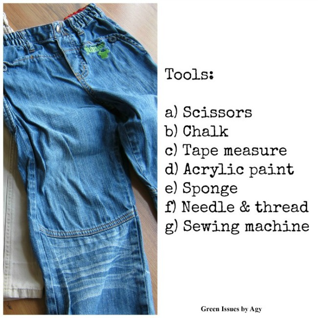 Kids can refashion clothes for a whole new wardrobe {Easy Sewing Project!}