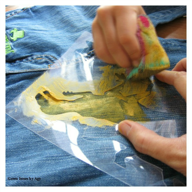 Upcycling ideas for kids pants {Refashion clothes}