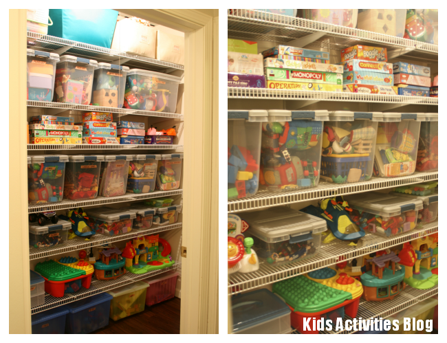 Toys Toys Toys - Tips for how to organize it all