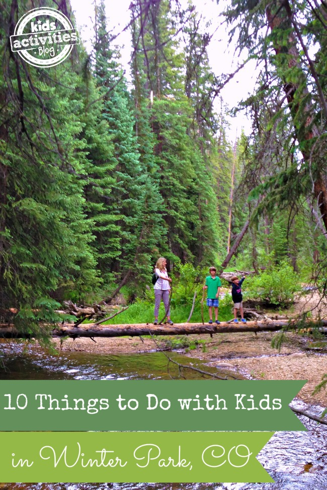 10 Things to Do with Kids in Winter Park CO from Kids Activities Blog