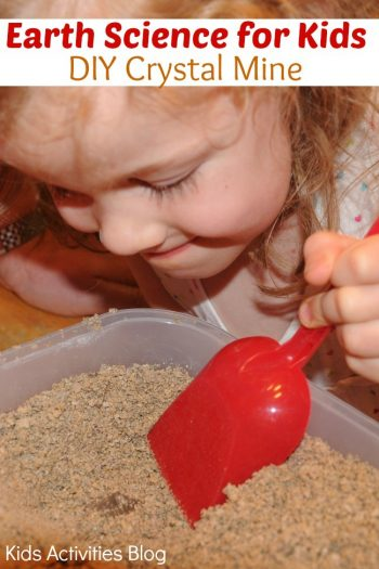 Earth Science for Kids: DIY Crystal Mine