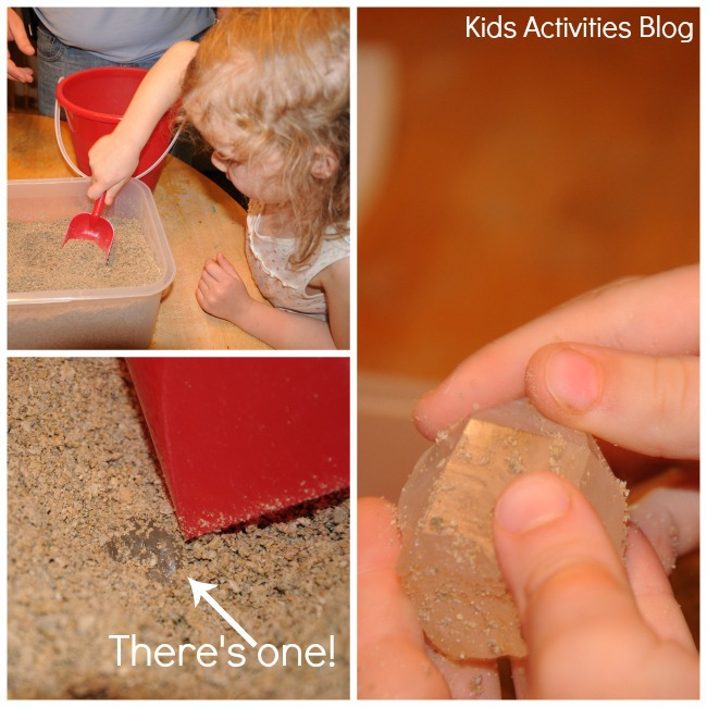 Kids love digging in their own crystal mine {Earth Science for Kids}