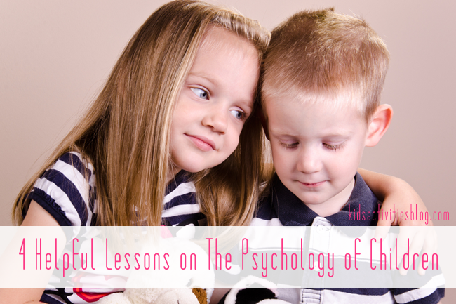 4 Helpful Lessons on The Psychology of Children