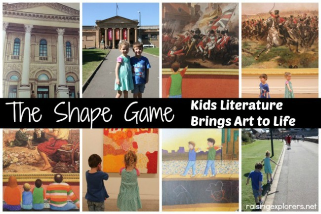 The Shape Game: Kids Literature Brings Art to Life