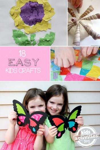 18 Easy Kids Crafts - Kids Activities Blog