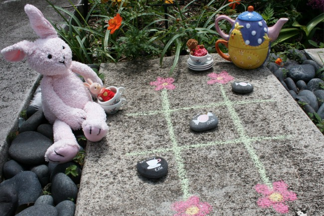DIY Tic Tac Toe Tea Party