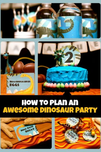 Dinosaur Themed Birthday Party - Kids Activities Blog