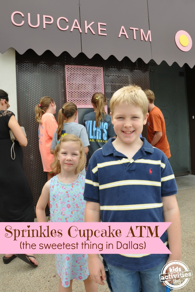 Sprinkles Cupcake ATM = 24 Hours of Heavenly Goodness
