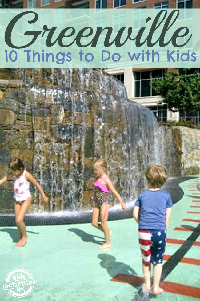 10 Things to Do with Kids in Greenville, SC