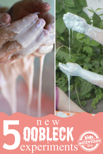 5 New Oobleck Experiments for Kids from Kids Activities Blog