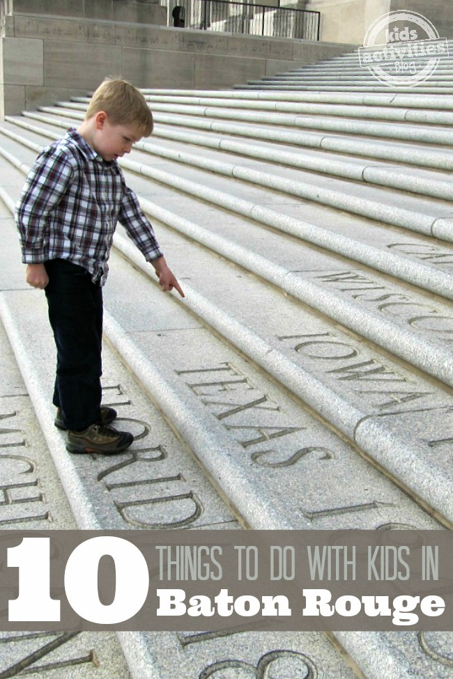 10 Things to do with Kids in Baton Rouge LA - Kids Activities Blog