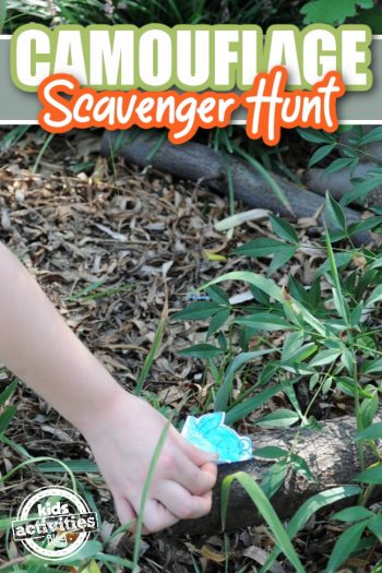 Camouflage Activities for Kids - Camo Scavenger Hunt - Kids Activities Blog