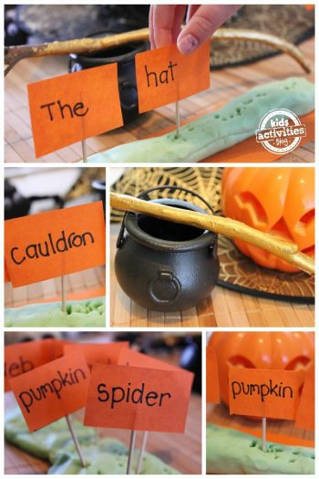 Festive and Fun {Not So Spooky} Halloween Sight Words Game