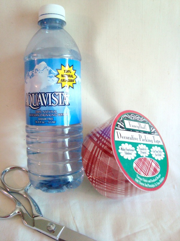 materials needed to customize your water bottle