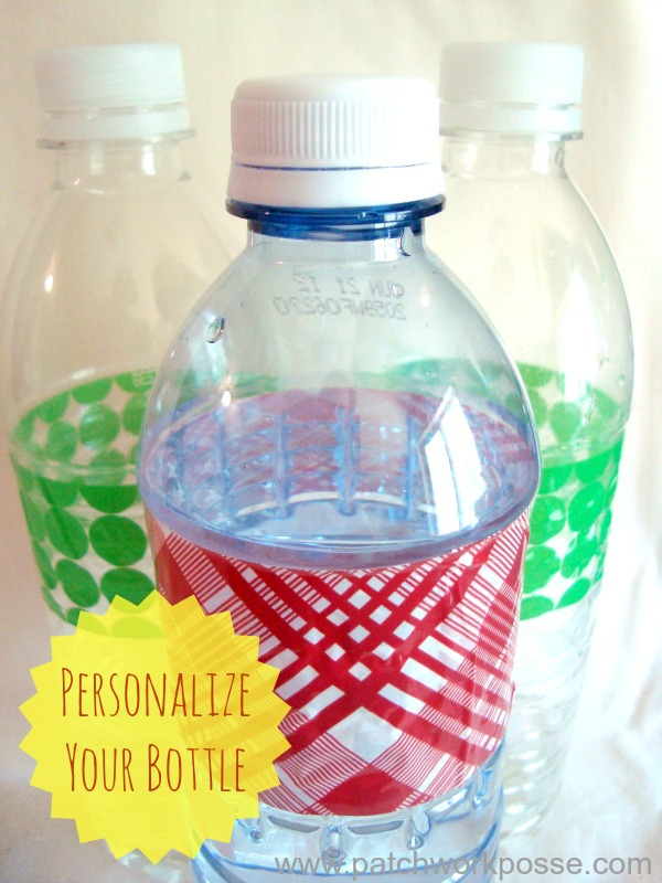 customized water bottles for kids tutorial and easy project