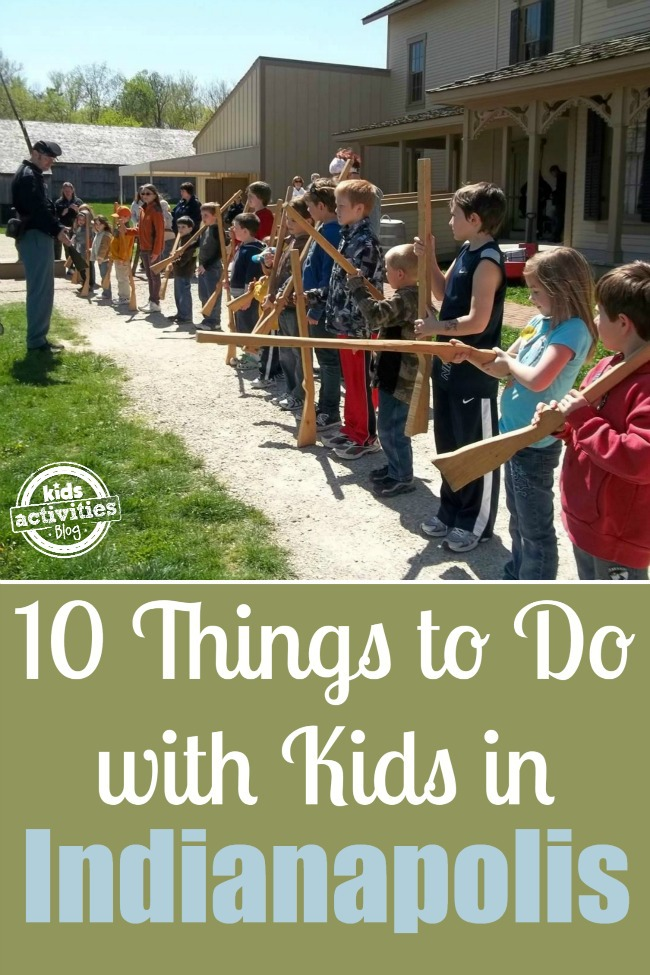 things to do with kids in Indianapolis