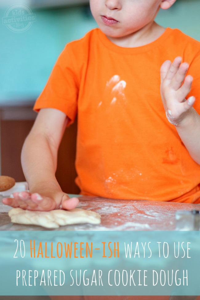 20 Halloween sugar cookies featured on Kids Activities Blog