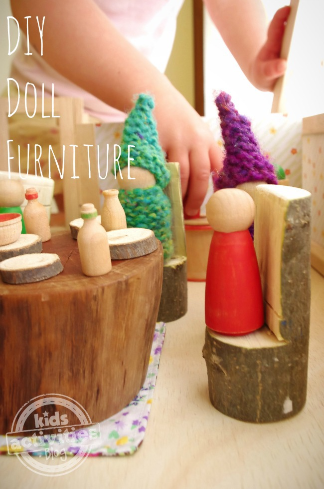 DIY Doll Furniture - An Everyday Story