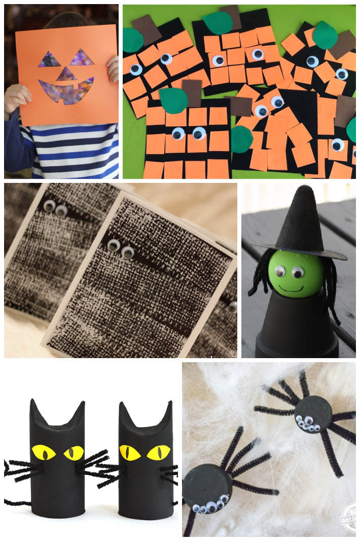 17 Easy Halloween Crafts for Kids Perfect for Toddlers & Preschoolers