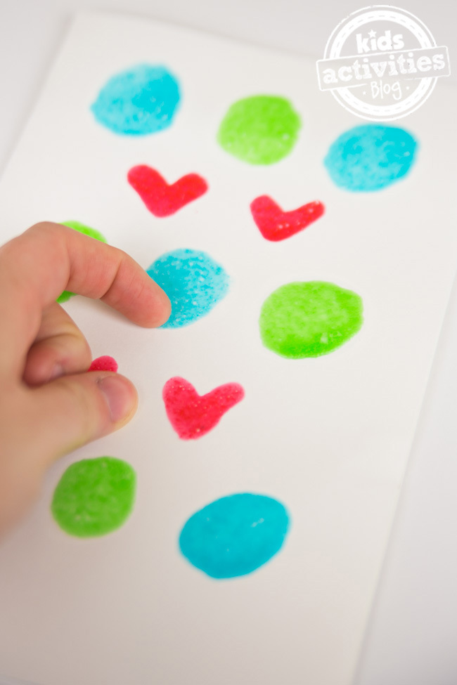 Homemade Scratch and Sniff Paint