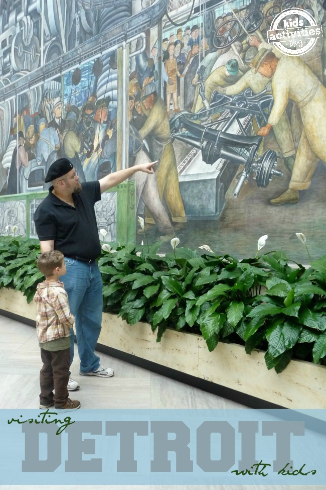 Things to Do with Kids in Detroit MI featured on Kids Activities Blog