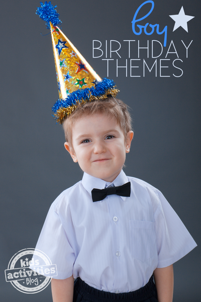 4 Fun Birthday Themes for Boys