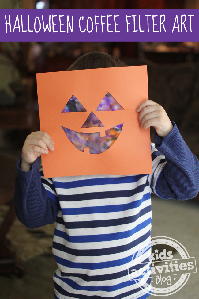 Halloween Jack-O-Lantern craft Project perfect for toddlers and preschoolers