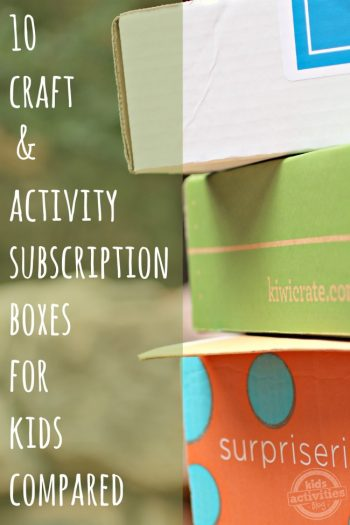 10 Craft and Activity Subscription Boxes For Kids Compared on Kids Activities Blog