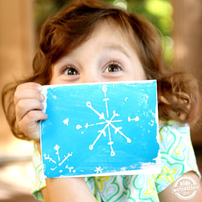 Christmas Cards that are easy enough for the kids to create