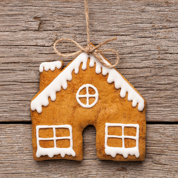 Gingerbread House Ornament Idea