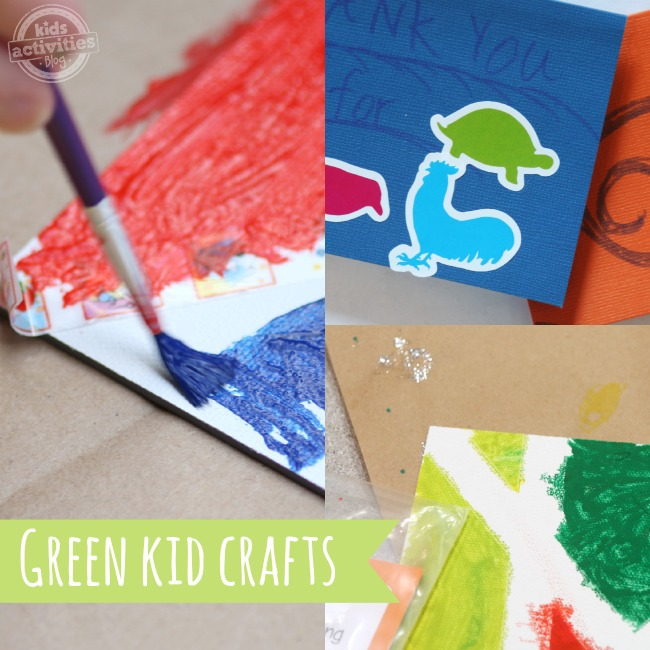 Green Kid Crafts Craft Subscription Box for Kids featured on Kids Activities Blog