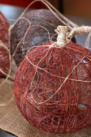 Imperial Sugar Sugared String Pumpkin Decor - Kids Activities Blog